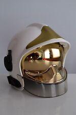 MSA GALLET F1SF25 B3b Fire HELMET Feuerwehrhelm CASCO de BOMBERO Pompiers WHITE