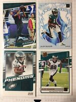 (4 LOT) 2020 Jalen Reagor Donruss Rated Rookie Canvas White Hot Rookie RC Card