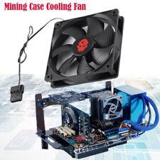 LED Cooling Fans 120x25mm PC Fan Bitcoin Mining Rig Fan Per Frame Case 3000RP TY