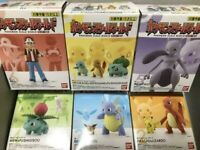 BANDAI Pokemon Scale World Kanto 1/20 Figure 6 Type Sets Japanese Official Toy