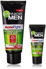 garnier ancno fight face wash 50gm + 20 gm garnier acno fight cream combo FS