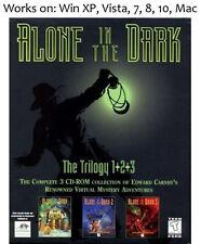 Alone in the Dark Trilogy PC Mac Game