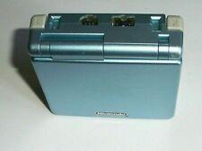 Nintendo Game Boy Advance SP Blue Console *MINT SCREEN* VGC RETRO FUN