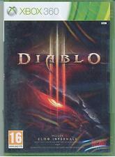 XBOX 360 - DIABLO 3 III - Include Elmo Infernale - PAL - ITA - NUOVO