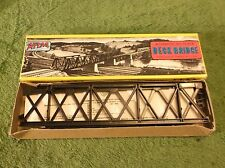 Vintage Original ITB Atlas Code 100 Railroad Deck Bridge Train Track Set