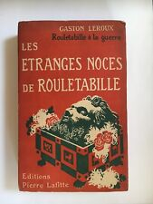 Gaston Leroux, Rouletabille, French, Mystery, Books, Rare, Literature, Adventure