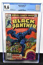 Black Panther #7 (1978) CGC Graded 9.6 Jack Kirby Ernie Chan Marvel Comics