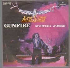 """7"""" Andy Surdy gunfire/Mystery Woman 70`s Mercury Records"""