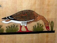 Vintage Meidum Geese Old Painting Pharoahs Papyrus Sphynx Sq. Samman Giza Egypt
