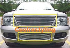 FOR 02 03 04 05 Ford Explorer Billet Grille Grill combo inserts 2002~2005