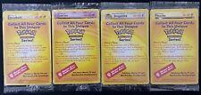 Pokémon Movie WB Black Star Promo Mewtwo Pikachu Dragonite Electabuzz 4 CARD SET