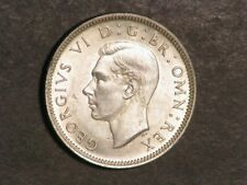 GREAT BRITAIN 1944 1 Shilling Silver AU-Unc