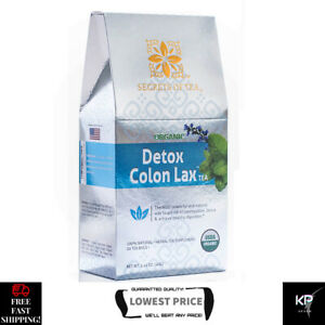 Secrets Of Tea Detox Colon Lax Herbal Weight Loss Cleanse Reduce Instant Natural