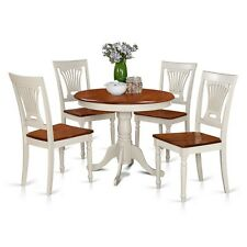5 Piece Kitchen Table Set-Small Kitchen Table Plus 4 Kitchen Dining Chairs NEW