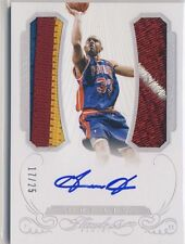 GRANT HILL 2014-15 Panini Flawless 3-COLOR JERSEY PATCH AUTO /25 PISTONS