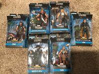 "Marvel Legends BAF Hulk Thor Lot Hela Nine Realms Warriors Loki 6"" Figure New"