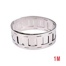 1m 0.15*27MM Ni plate nickel strip tape for 18650 Li-Ion battery spot welding%%
