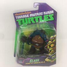 TMNT Nickelodeon Playmates Teenage Mutant Ninja Turtles Slash Figure 2014 'NEW'