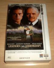 VHS Film - Legenden der Leidenschaft - Brad Pitt - Videokassette