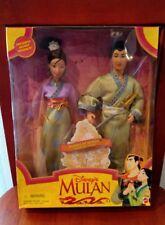 1997 MATTEL DISNEY'S MULAN HEARTS OF HONOR MULAN & SHANG SET
