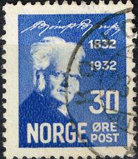 Norway Famous Writer Bjornson stamp 1932 #157 $9.00