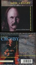 "David CROSBY ""In concert"" (CD) 1996"