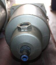 "SMC Pneumatic Main Line Air Filter 1.5"" AFF37B-14D"