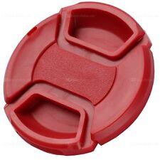 49mm Universal Objektivdeckel Rot lens cap für Kamera Objektive