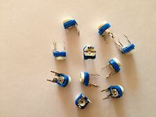 10pcs 200k ohm 200k R Trimpot Trimmer Pot Variable Resistor Horizontal Type 204