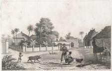 Ansicht View of Luzon 1836 Philippinen Asia Philippines Landleben country life