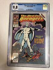 West Coast Avengers (1989) # 45 (CGC 9.8 WP) 1st App White Vision Disney+