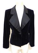 YSL YVES SAINT LAURENT RIVE GAUCHE Giacca Donna Tuxedo Woman Jacket Sz.M - 44