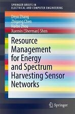 SpringerBriefs in Electrical and Computer Engineering: Resource Management...