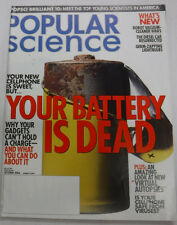 Popular Science Magazine Your Battery Is Dead October 2004 072815R