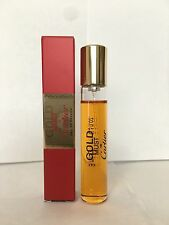 THE NEW MUST GOLD By CARTIER Eau De Parfum .33 fl. oz.10ml. Travel Spray