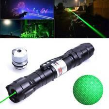 High Power Green Laser Pointer Pen Visible Beam Flashlight Laser Sight Torch