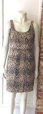 MICHAEL KORS ANIMAL PRINT DRESS..US 6. UK 10 BNWOT