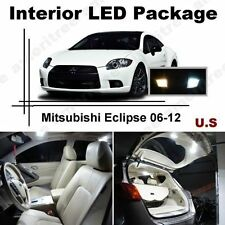 White LED Lights Interior Package Kit for Mitsubishi Eclipse 2007-12 (8Pcs)