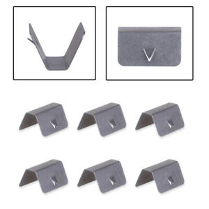 Wind / Rain Deflector Channel Metal Retaining Clips Fit For Heko G3 SNED Clip X8