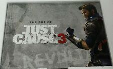 The Art of Just Cause 3 Hardcover Artbook & Official Map [Game Memorabilia] NEW
