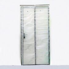 Pvc Strip Curtain 1000x2100mm Plastic Door Curtains - 500 x 2mm Clear Strips