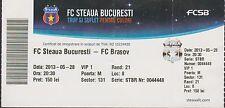 Ticket STEAUA BUCHAREST vs FC BRASOV- Romanian First League - 28/05/2013