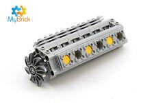 LEGO Technic - V12 cylinder engine with crank, pistons, fan