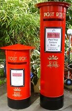 WEDDING ROYAL MAIL PILLAR POST BOX,Personalised,Any Color,Reusable To BUY