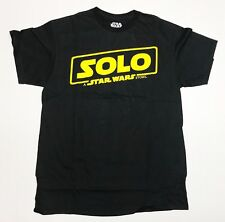 SOLO - A Star Wars Story - Men's Medium Black T-Shirt Graphic Tee