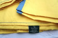New Ralph Lauren Queen Sheet Beachside Preppy Gold Flat