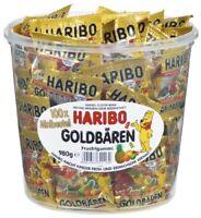 Haribo Goldbären Mini Beutel Minibeutel Fruchtgummi 100 Stück