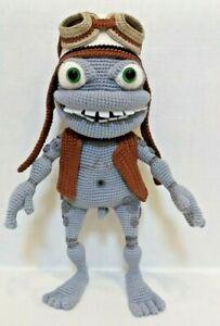 Crazy Frog Amphibian Toy Handmade 30cm Gift