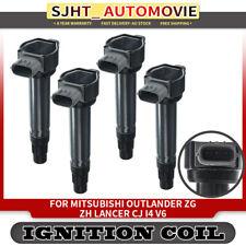4x Ignition Coils for Mitsubishi Outlander ZH ZG Lancer CJ I4 2.0L 2.4L 06-12