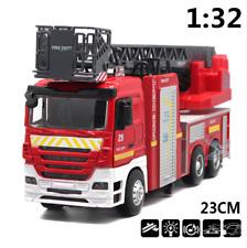 1:32 Metal Fire Engine Truck Ladder Sound And Lights